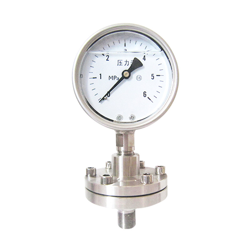YPF-100BF不锈钢膜片压力表?>