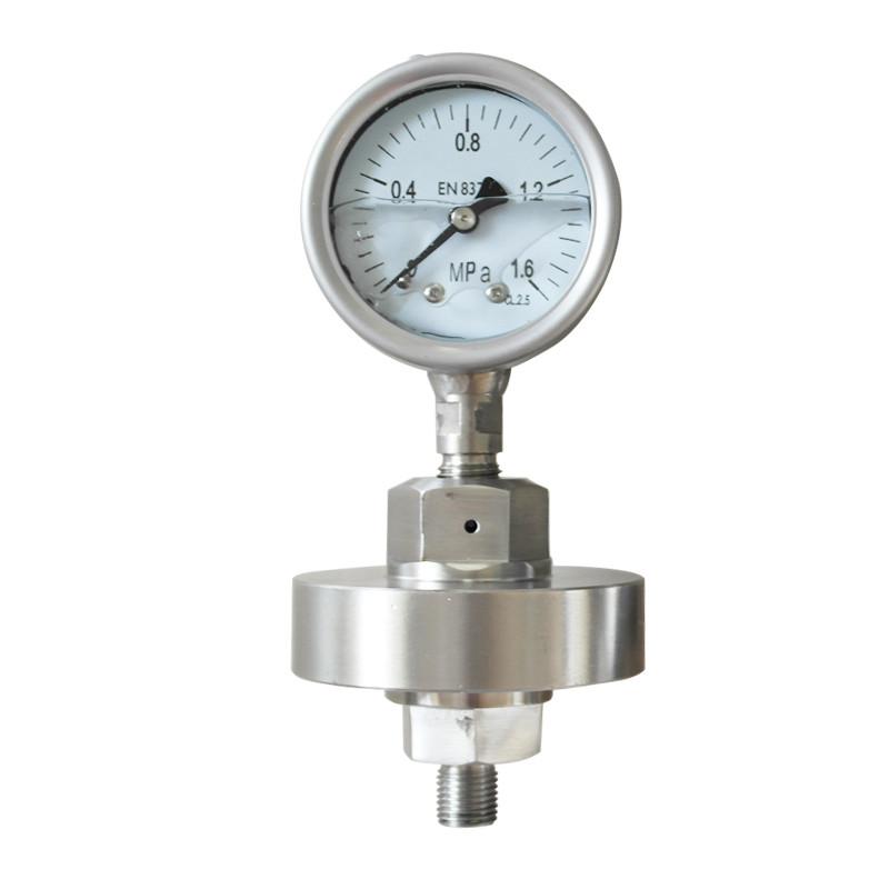 Y-100BF/Z/MF(316)316全不锈钢隔膜压力表?>
