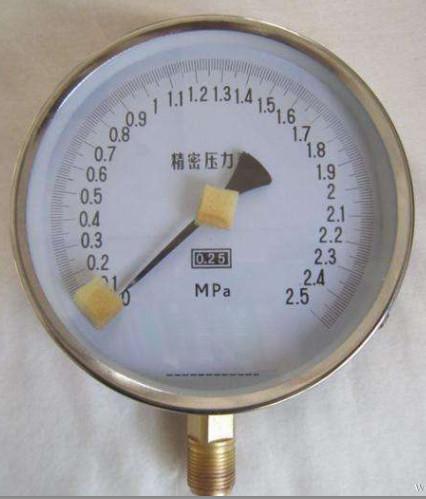 不锈钢精密压力表?>