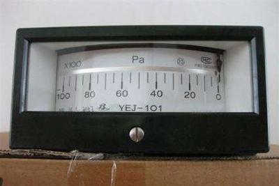 YEJ-101矩形膜盒压力表?>